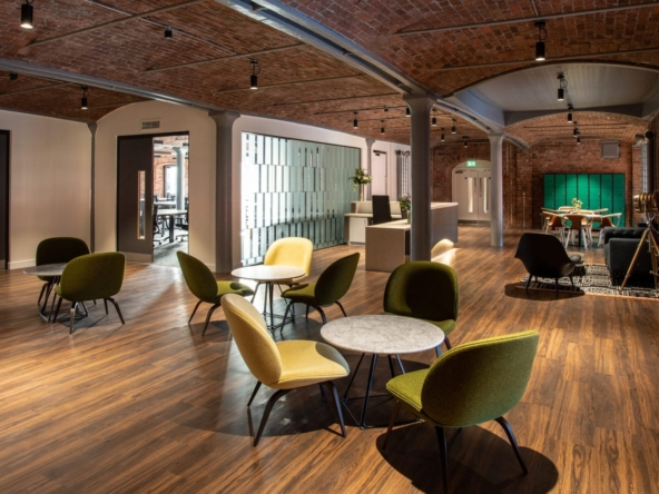 Office space rental in Liverpool