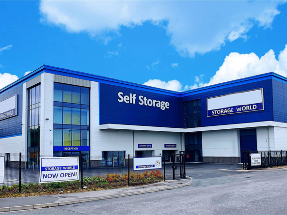 Secure self-storage in York